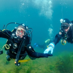 PADI O/W Diver - Milieu naturel 3 et 4 - En lac.